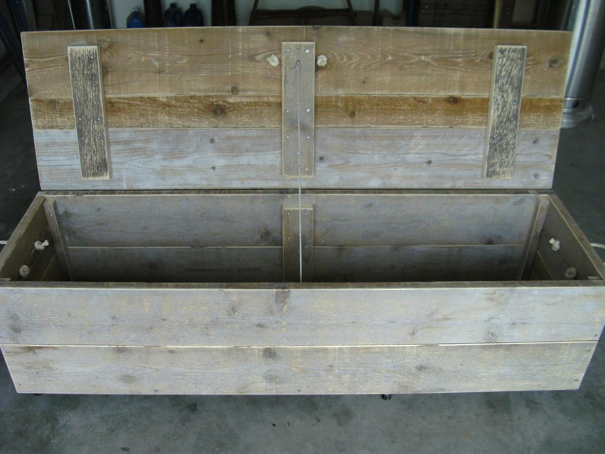 Steigerhouten Meubels Friesland : Steigerhouten meubelen
